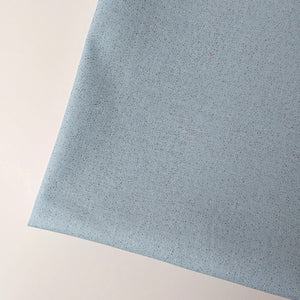 Solid Colour Fabric with Glitters -- Light Blue