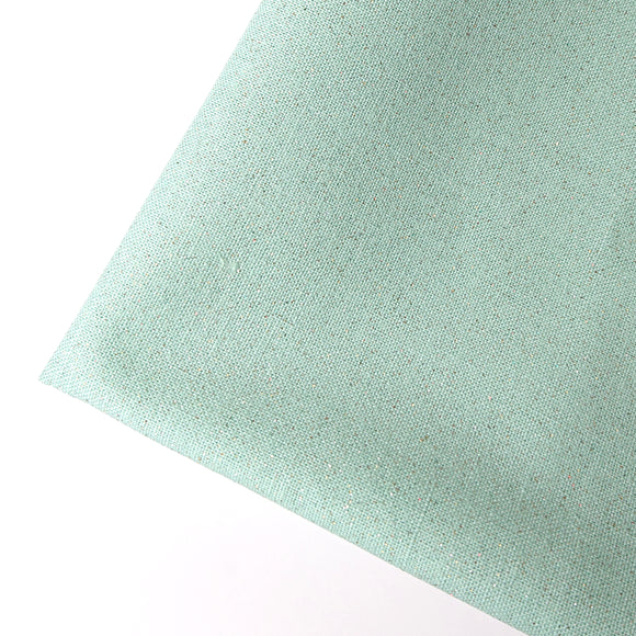 Solid Colour Fabric with Glitters -- Mint