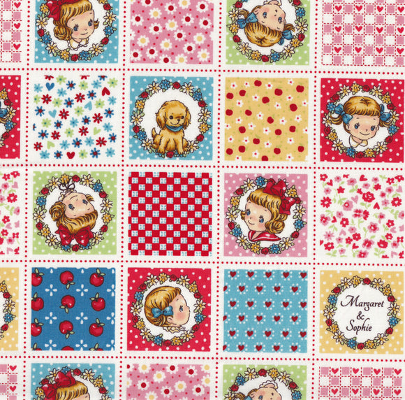 Patchwork Margaret (red)