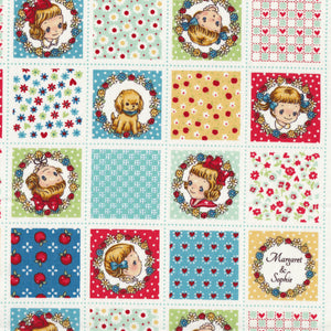 Patchwork Margaret (blue)