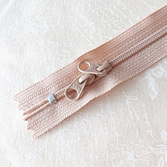 YKK Candy Color Zipper -- Beige (50cm/20in)