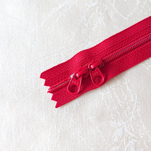 YKK Candy Color Zipper -- Red(50cm/20in)