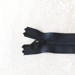YKK Candy Color Zipper -- Black(20cm/8in)