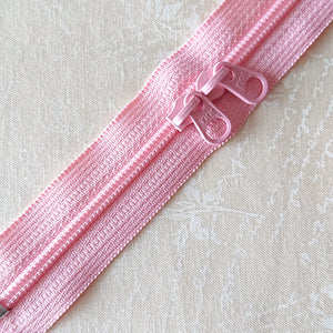 YKK Candy Color Zipper -- Light Pink(50cm/20in)