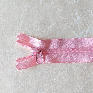 YKK Candy Color Zipper -- Light Pink(30cm/12in)