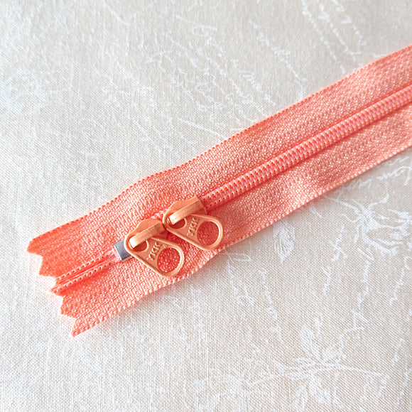 YKK Candy Color Zipper -- Orange(50cm/20in)