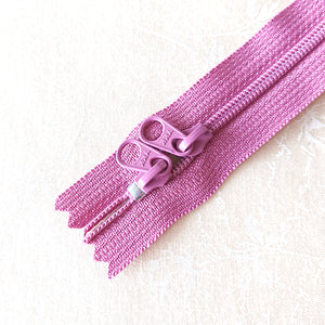 YKK Candy Color Zipper -- Rosy Pink(50cm/20in)