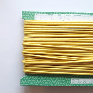 String/Cords- Yellow