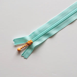 "YKK COMBMIX Pastel - Light Blue/Orange (8""/20cm)"