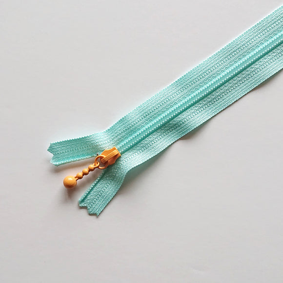 YKK COMBMIX Pastel - Light Blue/Orange (8