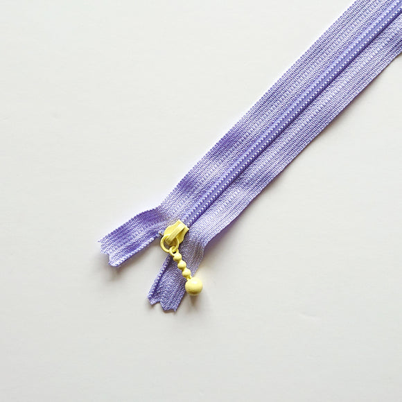YKK COMBMIX Pastel - Purple/Pale yellow (8