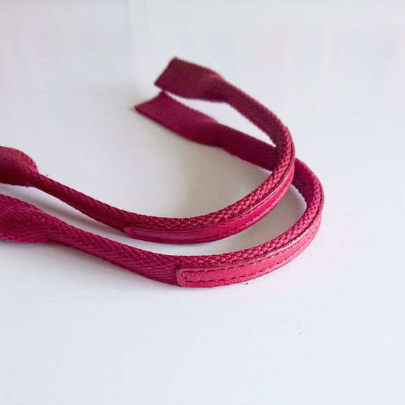 Mini Bag Handles - Dark Red