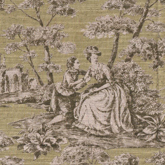 Coffession of Love -- Toile De Jouy (Green)