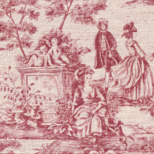 Coffession of Love -- Toile De Jouy (Red)