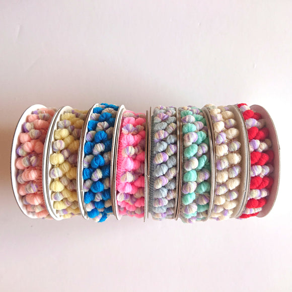 Multi-Colour Pompom -- Bundle