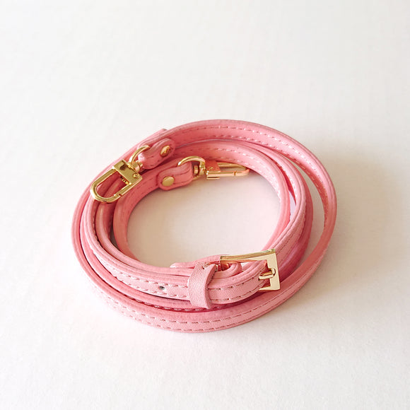 Adjustable Bag Shoulder Strap - Pink