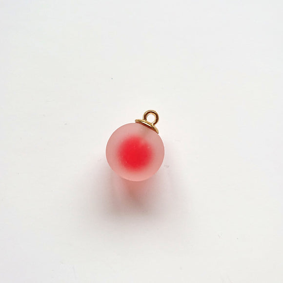 Zipper Charm - Dreamy Bubble (red)