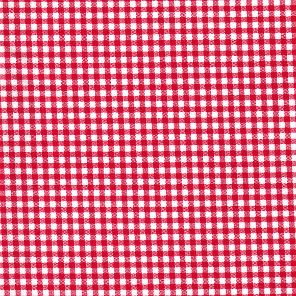 Gingham - Bright Red