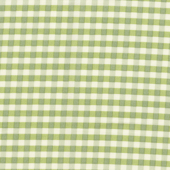 YUWA Basic Gingham - Olive Green