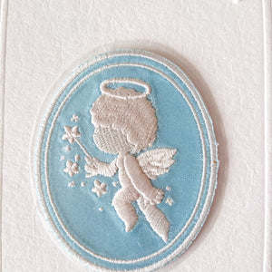 Iron-on/Stick-on Patch-- Holy Angel