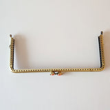 Metalic Rectangular Clasp Frame -- Bronze