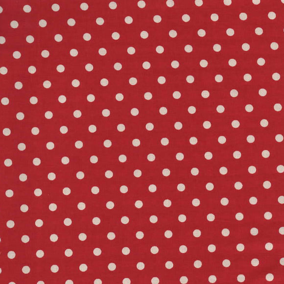 YUWA Basic Polly Dot- Red