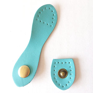 Wallet Snap Strap - Blue