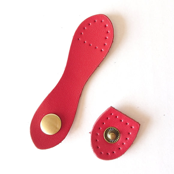 Wallet Snap Strap - Red