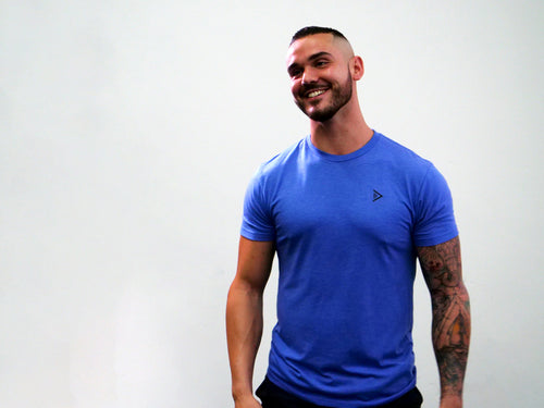 Masculine Basic - Beautiful Blue Tee
