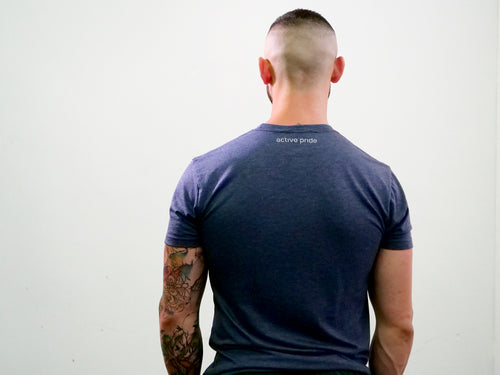 Masculine Basic - Navy Shirt Tee