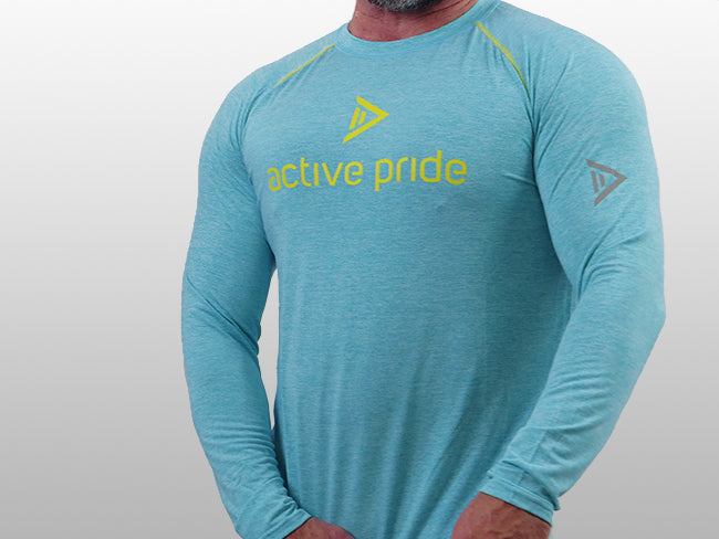 Masculine Colour - Aqua Fun Long Sleeve