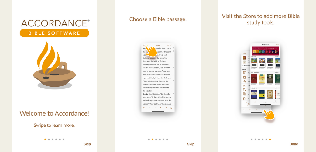 Accordance Bible App
