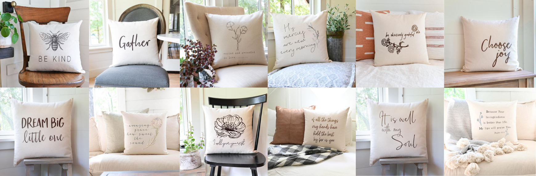 Rooted + Grounded Pillow Collection