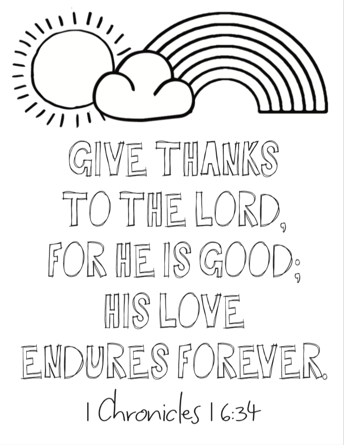 Kids Verses Coloring Pages 6