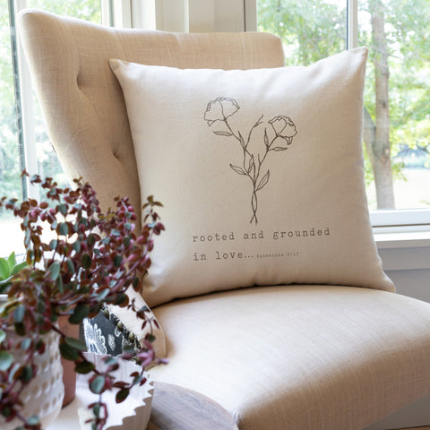 Rooted and Grounded Pillow