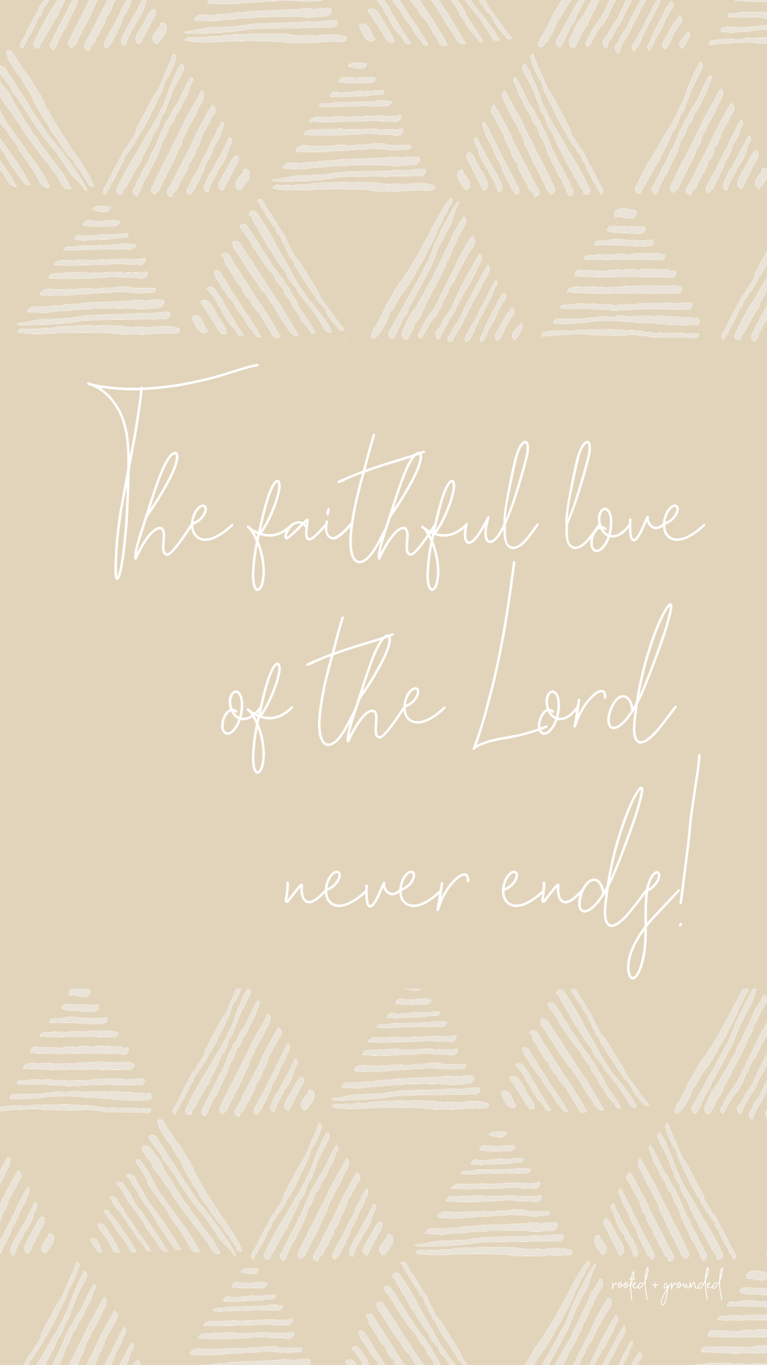 The Faithful Love Of The Lord Christian iPhone Wallpaper