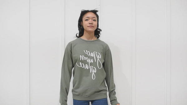 The Best is Yet to Come Gray Sweatshirt