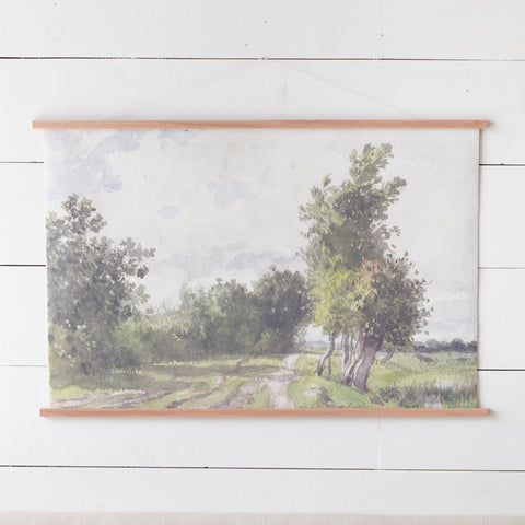 Hanging Canvas Painting