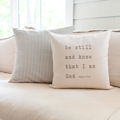 Be Still And Know | Pillow