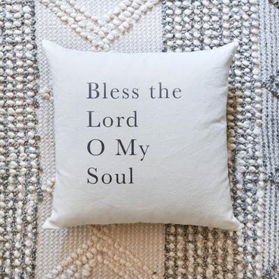 Bless the Lord | Pillow