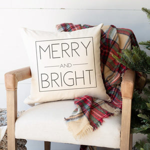 Merry and Bright | Pillow