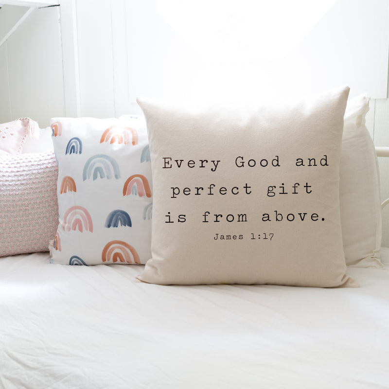 Every Good And Perfect Gift | Pillow