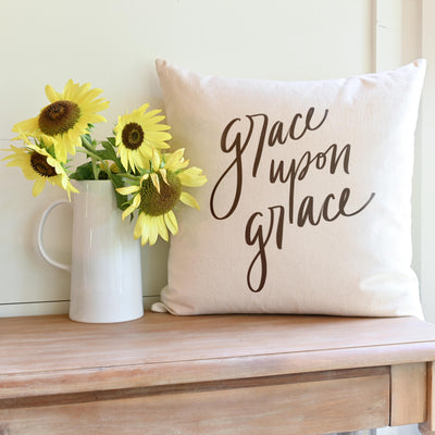 Grace Upon Grace | Pillow