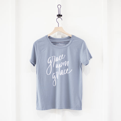 Grace Upon Grace | Original Hand Lettered Design