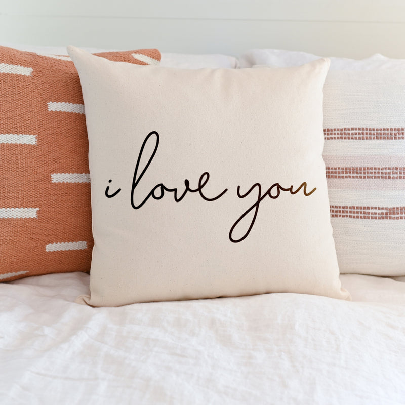 I Love You Pillow