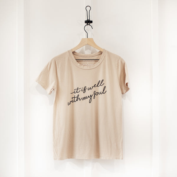 It Is Well With My Soul T Shirt