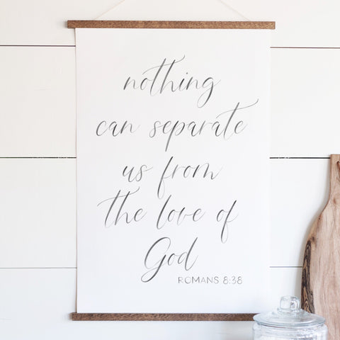Nothing Can Separate Us Hanging Canvas