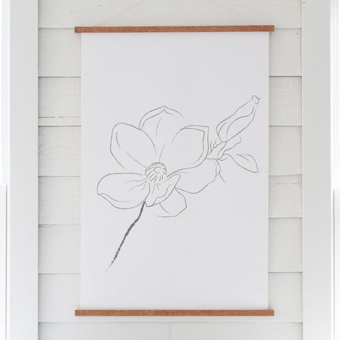 Flower Hanging Canvas