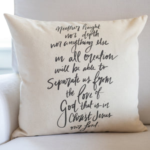 Nothing Can Separate Us From The Love of God | Pillow