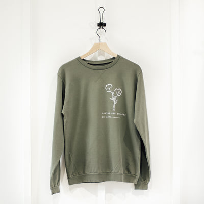 Rooted and Grounded in Love Sweatshirt